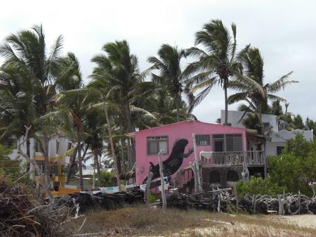 Hostal auf Isla Isabela